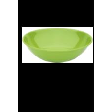 PLASTIC BORD KOMMETJE GROEN 40cl (PC) Onbreekbaar Harfield - 50 st/ds
