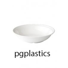 PLASTIC DIEP BORD 18.8cm (PC) Onbreekbaar Roltex - 50 st/ds