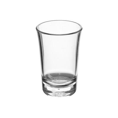 100x Plastic Shotglaasjes 4cl Onbreekbaar