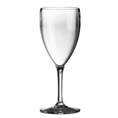 24x Plastic Wijnglazen 34cl Onbreekbaar Tropic