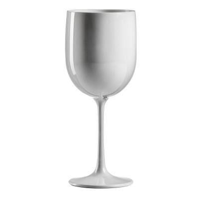 12x Witte Plastic Wijnglazen 48cl Onbreekbaar Tropic