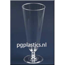PLASTIC BIERBEKER DUITS 350 ml (PS)   - 350st/ds