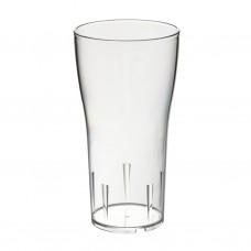 80x Plastic Bierglazen 40cl Onbreekbaar