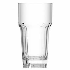 30x Plastic Bierglazen Halve Liter Onbreekbaar Eco