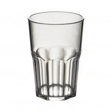 50x Plastic Cocktailglazen Caipi 43cl Onbreekbaars