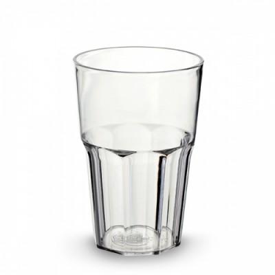 60 x Plastic Cocktailglas 34cl (PC) Onbreekbaar Eco Reeks
