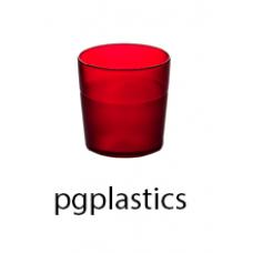 PLASTIC BEKER JUNIOR ROOD 17cl (PC) Onbreekbaar FROST - 150 st/ds