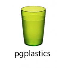 PLASTIC BEKER JUNIOR GEEL 25cl (PC) Onbreekbaar FROST - 150 st/ds