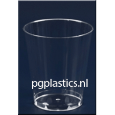 PLASTIC DRINKGLAS 0.24L (PS) - 1000 st/ds