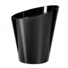 1x Plastic Ijsemmer Single Zwart