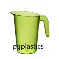 PLASTIC KARAF / PITCHER 0.5L GEEL (PC) Onbreekbaar FROST - 40 st/ds