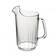 2x Plastic Bierkannen Pitchers 1.4L Onbreekbaar