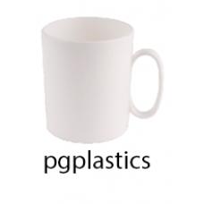 PLASTIC KOFFIEMOK KOFFIEBEKER 30cl (PC) Onbreekbaar Roltex - 12 st/ds