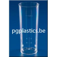 5000 x PLASTIC LONGDRINKGLAS 0.3L (PS)