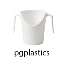 PLASTIC NEUSBEKER 22cl (PC) Onbreekbaar Roltex - 12 st/ds