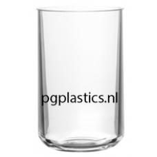 PLASTIC WATERGLAS 340ml (PC) Onbreekbaar Aqua Roltex - 50 st/ds