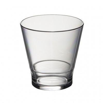 50x Plastic Whiskyglazen 25cl Onbreekbaar