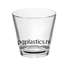 PLASTIC WHISKYGLAS 350ml (PC) Onbreekbaar Tao Roltex - 50 st/ds